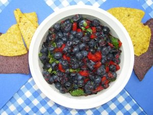 Naomi's Blueberry Salsa - Pinetop Farm